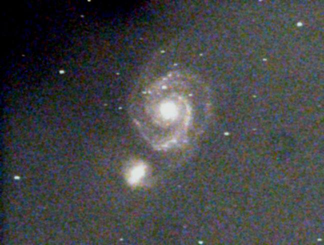 M51 Galassia vortice (Foto di Mantero Andrea)